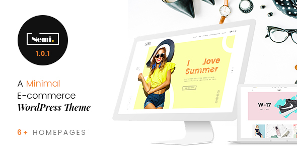 Download Nemi - Multi Store Responsive WordPress Theme Store WordPress Themes
