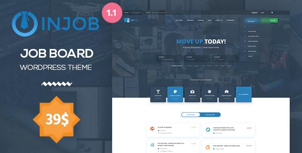 Download Job Board WordPress Theme - InJob Job WordPress Themes