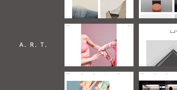 Download Art. Simple & Clean WordPress Theme for Creatives Clean WordPress Themes