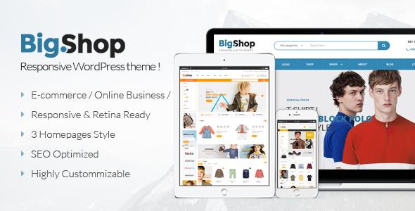 Download BigShop - Multipurpose WooCommerce WordPress Theme Woocommerce WordPress Themes