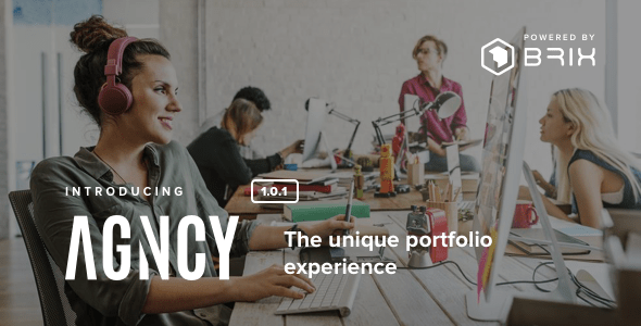 Download Agncy - Creative & Modern Portfolio WordPress Theme Modern WordPress Themes