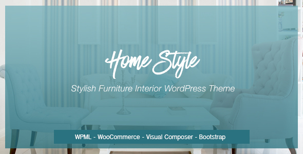 Download Homestyle | Responsive Furniture Interior WordPress Theme Furniture WordPress Themes