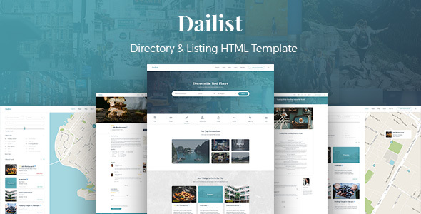 Download Dailist - Directory & Listing HTML Template Amp Html Templates