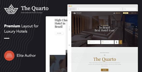 Download The Quarto | Premium Hotel HTML Template Hotel Html Templates