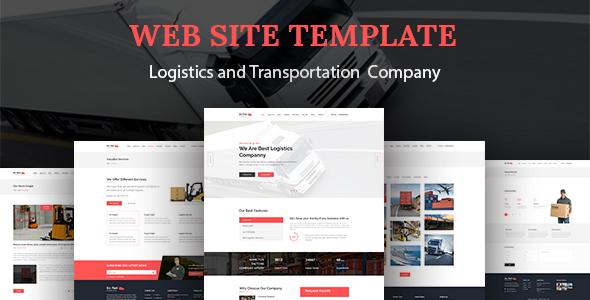 Download Go Fast-Transport & Logistics HTML Template Fast Html Templates