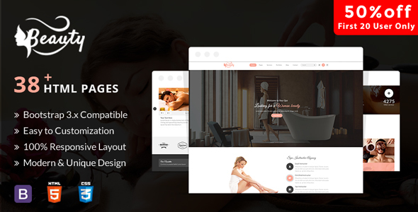 Download Aveda Spa & Wellness - Multipurpose HTML5 Template For Hair, Beauty & Spa Html5 Joomla Templates