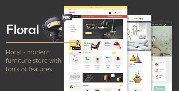 Download Floral - Furniture Store WooCommerce WordPress Theme Furniture WordPress Themes