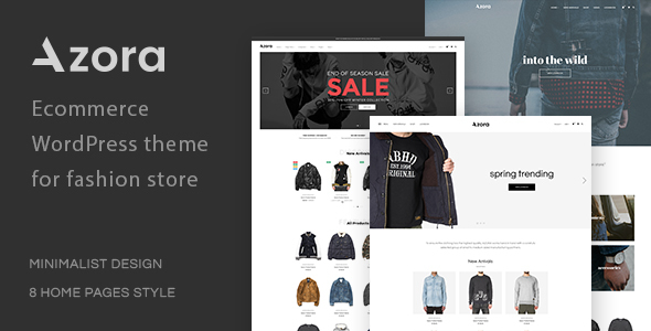 Download Azora - Multipurpose WooCommerce Theme Coming Soon WordPress Themes