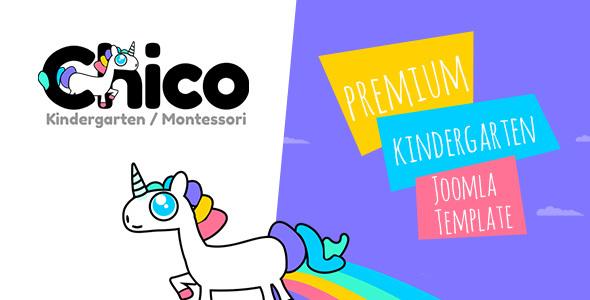 Download Chico - Premium Kindergarten and School Joomla Template Modern Joomla Templates
