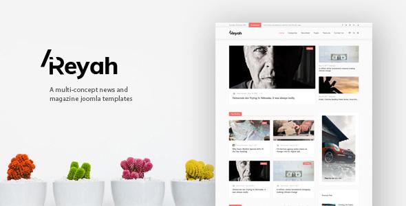 Download Areyah - Multi-Concept News & Magazine Joomla Templates Portal Joomla Templates