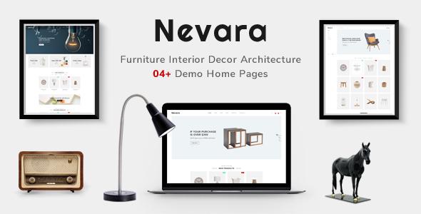 Download Nevara - Furniture Theme for WooCommerce WordPress Furniture WordPress Themes