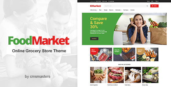 Download Food Market - Food Shop & Grocery Store WordPress Theme Store WordPress Themes