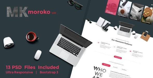 Download Moroko – Creative Bootstrap Responsive WordPress Theme Joomla WordPress Themes