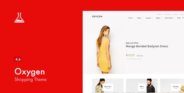 Download Oxygen - WooCommerce WordPress Theme Woocommerce WordPress Themes