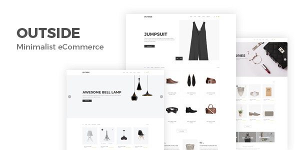 Download Outside - Minimalist eCommerce Template Ecommerce Joomla Templates