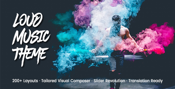 Download Loud - A Modern WordPress Theme for the Music Industry Modern WordPress Themes