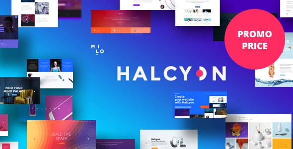 Download Halcyon - Multipurpose Modern WordPress Theme Modern WordPress Themes
