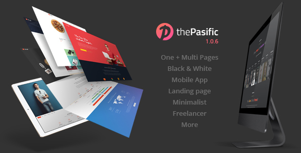 Download Pasific | Multipurpose HTML5 Template White Html Templates