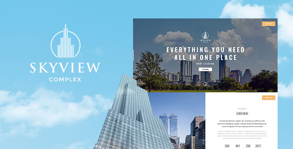 Download Skyview Complex - One Page Single Property WordPress Theme Property WordPress Themes