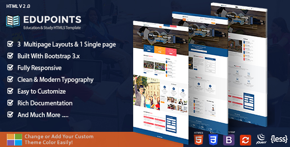 Download Education Course Academy - Education Points Portal Html Templates