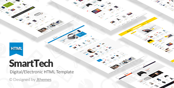 Download SmartTech - Ecommerce HTML Template Ecommerce Joomla Templates