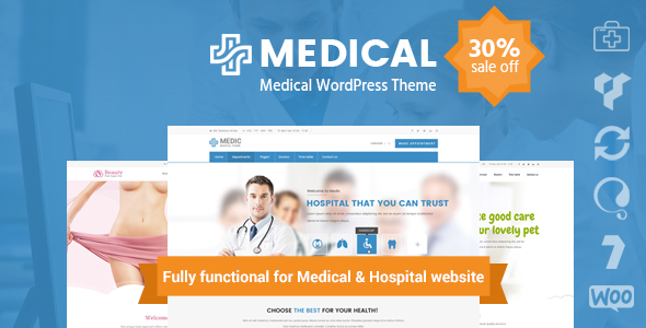 Download Medical Clinic Hospital WordPress Theme | inMedical Hospital WordPress Themes