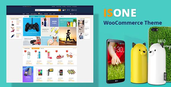 Download IsOne -  WooCommerce WordPress Theme Woocommerce WordPress Themes