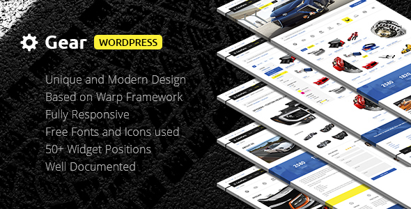 Download Gear — Automotive, Cars, Vehicle, Boat Dealership, Classifieds WordPress Theme Automotive WordPress Themes