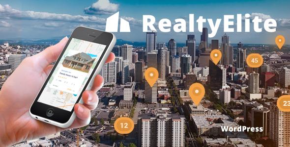 Download RealtyElite - Real Estate & Property Sales WordPress Theme Property WordPress Themes