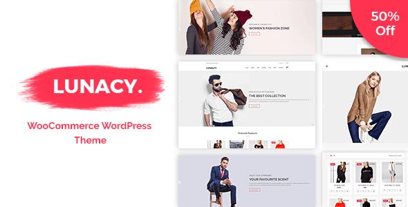 Download Lunacy - WooCommerce WordPress Theme Woocommerce WordPress Themes