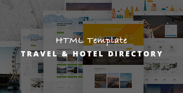 Download Travel Listing - Responsive HTML Template Responsive Html Templates