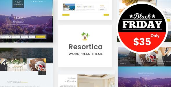Download Resortica | Hotel WordPress Theme Hotel WordPress Themes
