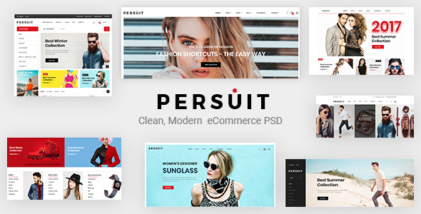 Download Persuit Multipurpose Ecommerce Template Ecommerce Joomla Templates
