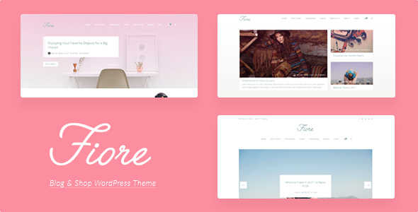 Download Fiore Blog - Blog & Shop HTML Template Amp Html Templates
