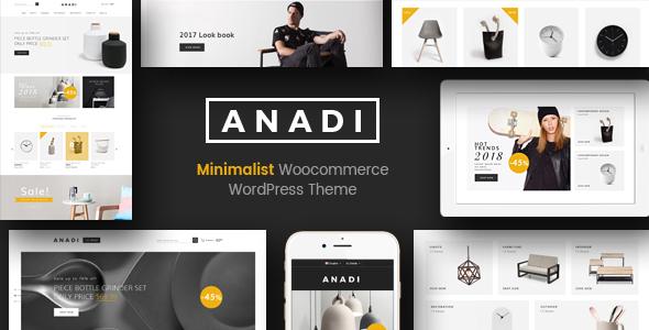 Download Anadi - WooCommerce Furniture WordPress Theme Furniture WordPress Themes