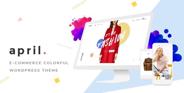 Download APRIL - Wonderful Fashion WooCommerce WordPress Theme Woocommerce WordPress Themes