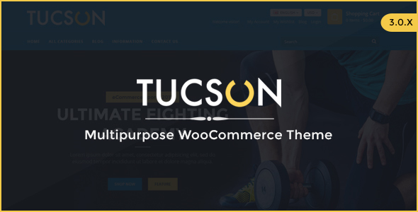 Download Tucson - Sports Store WooCommerce WordPress Theme Store WordPress Themes