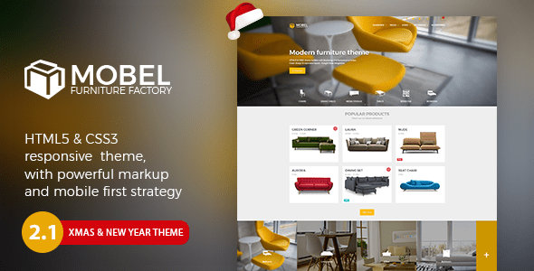 Download Mobel - Furniture HTML Template Interior Html Templates
