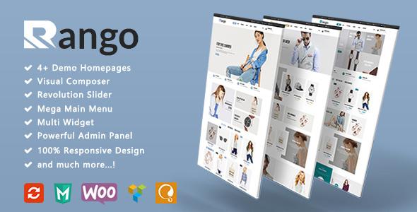 Download Rango - Fashion Responsive WooCommerce WordPress Theme Woocommerce WordPress Themes