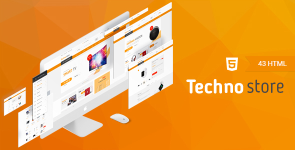 Download Techno Store - Electronic eCommerce HTML Template Ecommerce Joomla Templates