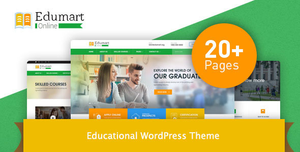 Download Edumart – Education WordPress Theme Education WordPress Themes