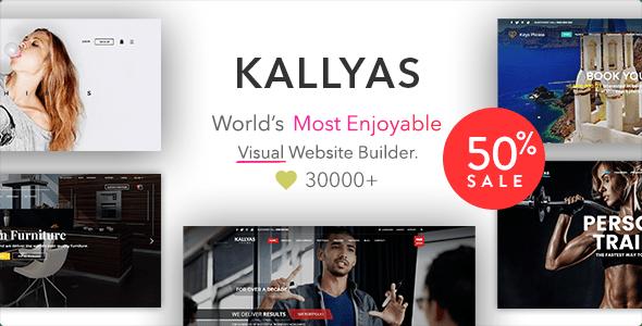 Download KALLYAS - Creative eCommerce Multi-Purpose WordPress Theme Coming Soon WordPress Themes