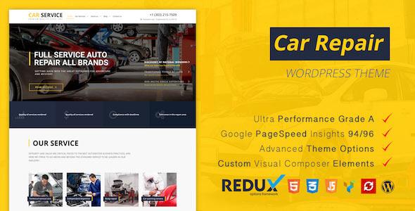 Download Avados - Car Service WordPress Theme Car WordPress Themes