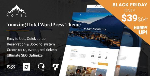 Download Hotel WordPress Theme | Hotel WP Hotel WordPress Themes