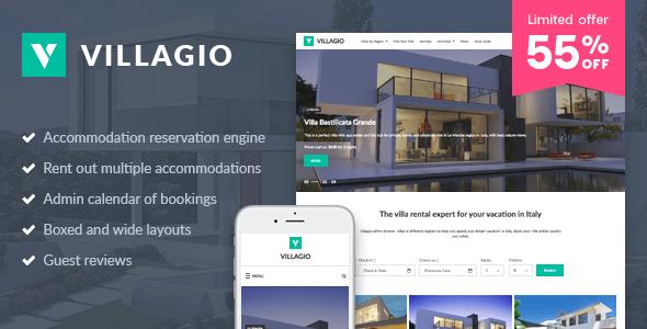 Download Villagio - Property Rental WordPress Theme Property WordPress Themes