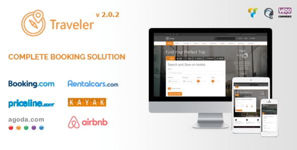 Download Traveler - Travel Booking WordPress Theme Travel WordPress Themes