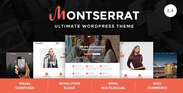 Download Montserrat - Multipurpose Modern WordPress Theme Modern WordPress Themes