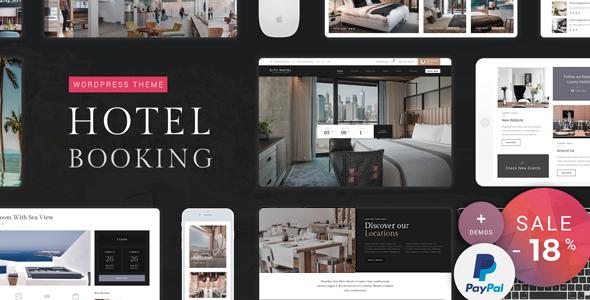 Download Hotel Booking - Hotel WordPress Theme Hotel WordPress Themes