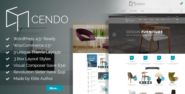 Download VG Cendo - WooCommerce WordPress Theme for Furniture Stores Furniture WordPress Themes