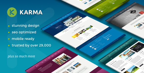 Download Karma - Responsive WordPress Theme Responsive WordPress Themes